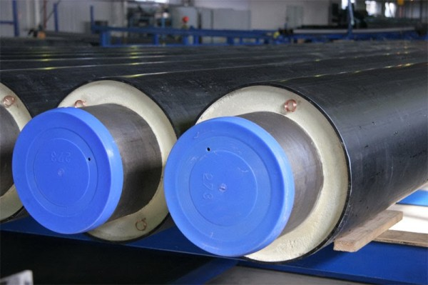 Труба стальная теплоизолированная в ППУ ПЭ изоляции Ф 45/110