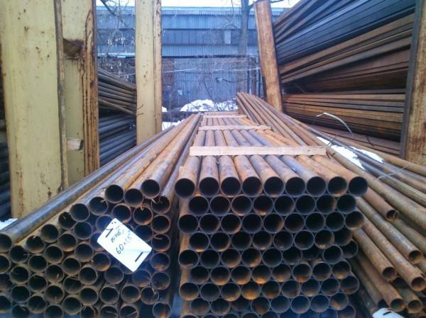 Труба сварная тонкостенная Ф 51х1,5мм. , для мебели и легких металлоконструкций. ГОСТ 10705