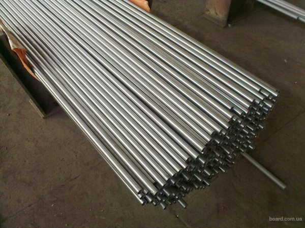 Труба титановая размер 14х2,3 мм Сталь ВТ 1-0