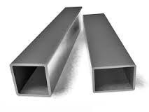 Труба тонкостенная квадратная и прямоугольная, черный металл