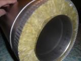 Труба сендвич 150/250мм. Нержавейка 0.5 (304) в алюмоцинке (Люксембург).