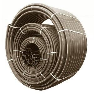 Труба водопроводная ПЭ VALROM Украина, UNIDELTA Италия 6-16 атм. Трубы в бухтах по 100 м. Доставка.