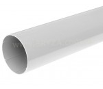 Труба водосточная Размер: 90 мм х 3000 мм х толщина стенки 3 мм