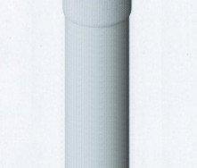 Фото  1 Труба водосточная с муфтой ПВХ 3м 1756777