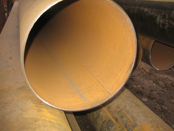 Трубы 325х7х8 длина 11 м демонтаж, отпескоструена с фаской.