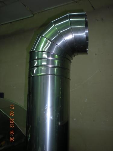 Трубы дымоходные из нержавеющей стали 0,4-0,8 мм