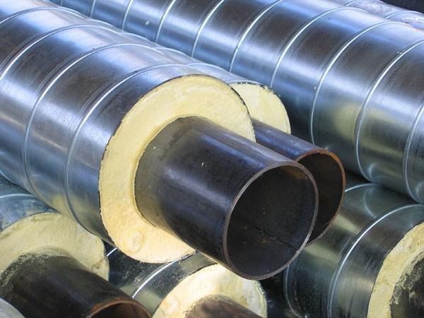 Труби і елементи трубопроводів сталеві теплоізольовані пінополіуретаном в поліетиленовій і оцинкованій облонках