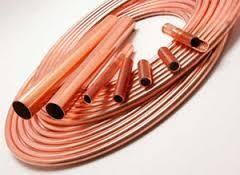Трубы медные М1м, М1т, М2м, М2т: ф5-267мм, толщина стенки 0.8-3мм, в отрезках, бухтах.