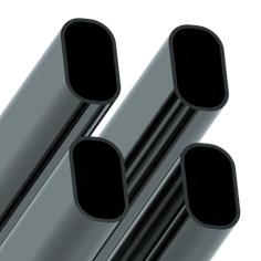 Трубы плоскоовальные электросварные ГОСТ 8644-68 30*15, 15*15.