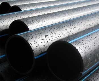 Трубы полиэтиленовые напорные для подачи воды для строительсва водопроводов