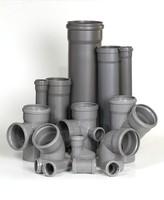 Трубы полипропиленовые для внутренней канализации d=32,50,110 мм и соединительные детали к ним