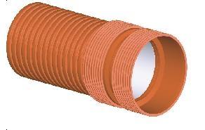 Труби ПП гофрированные Incor от ф200 по внутреннему диаметру, склад наличие