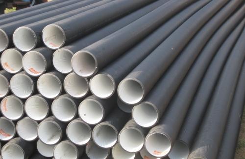 трубы ПП и ПЭ для безнапорной канализации (гофрированные) от 110мм до 1600мм