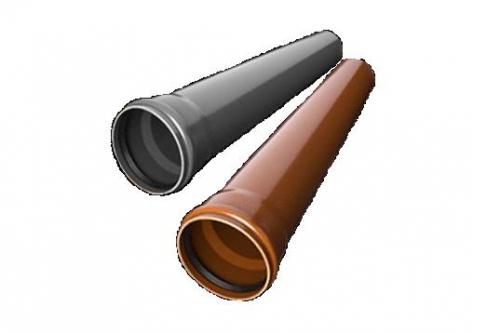 Трубы ПВХ 110, 160, 200, 250, 315, 400, 500