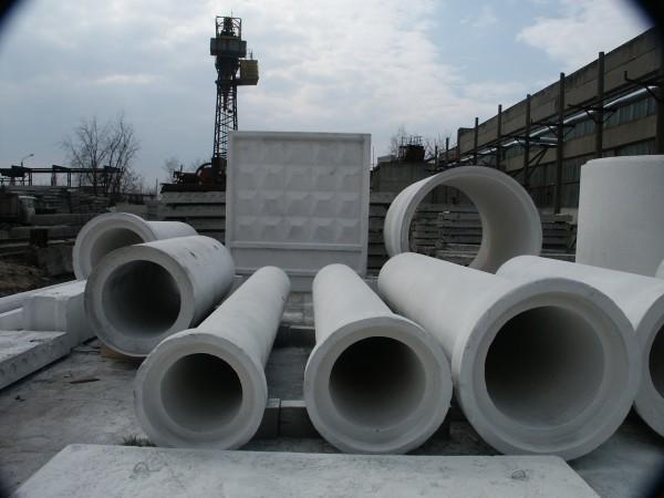 Трубы ж/б безнапорные раструбные дорожные вибропрессованные L-2.5 м и 5 м ТВ 50.25-1,2
