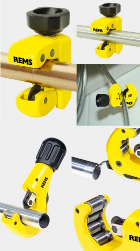 Труборез REMS РАС Cu-INOX Медные, тонкостенные нержавеющие стальные, тонкостенные стальные, алюминиевые и латунные