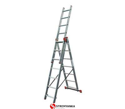 Фото  1 Трёхсекционная лестница KRAUSE Tribilo 3x6 ступеней 2234197