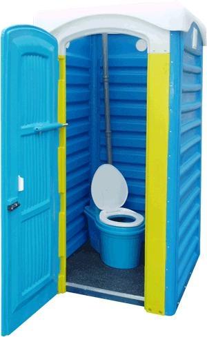 Туалет-кабина мобильная Дачная Укомплектованная