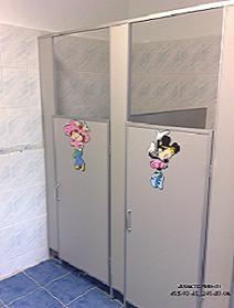 туалетные кабины и перегородки изготавливаются из ламинирован. ДСП