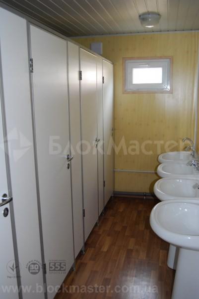 Туалетные модули, сантехнические блок-боксы, санитарные кабины, душевые, раздевалки и мобильные санузлы