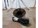 Фото  4 Турникет роторный вертушка с электро остановкой и кнопкой управления из нержавеющей стали BLESK TM 44884