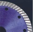 Турбо-диски отрезные WBWN-350 для сухой резки, гранит