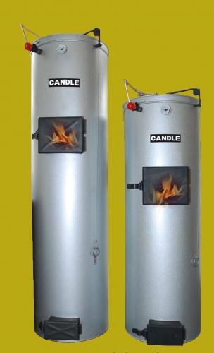Твердопаливний котел свічного типу горіння Candle.
