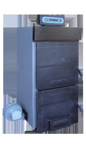 Твердотопливный котел DEMRAD SOLITECH Plus 4F (эл. регулятор t)