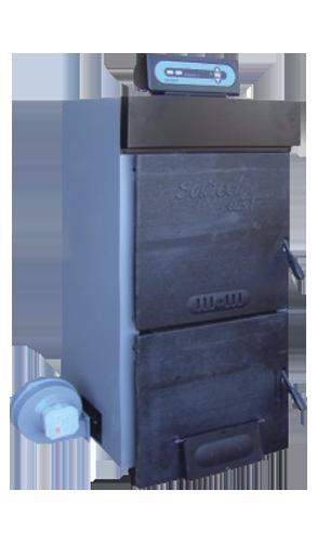 Твердотопливный котел DEMRAD SOLITECH Plus 8F (эл. регулятор t)