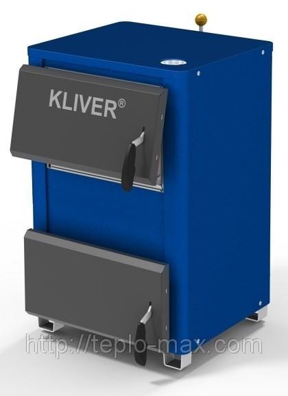 Твердотопливный котел KLIVER 14 кВт в Донецке.