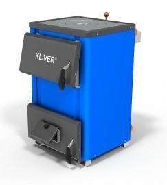 Твердотопливный котел KLIVER 14П с плитой. Котлы Кливер продажа в Донецке, доставка по Украине