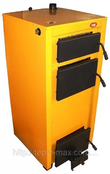 Твердотопливный котел КОТВ-19Е (вентилятор, электронный контроль температуры) высокий КПД, длительное горение.