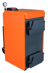 Твердотопливный пиролизный котел Unica-12.5 мощность 12,5 кВт