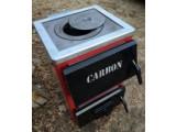 Твердотопливный котел Carbon КСТО-10П New с плитой
