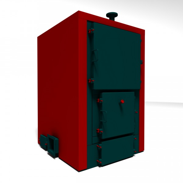 Твёрдотопливные котлы КВТ (от 100 до 700 кВт) с футерованой топкой.
