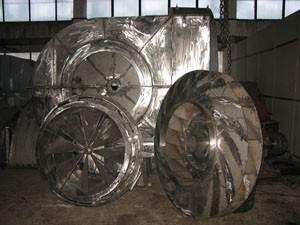 Тягодутьевые машины одностороннего всасывания типа Д предназначены для отсасывания дымовых газов