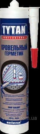 TYTAN Битумно-каучуковый Кровельный герметик 310 мл. (черный)