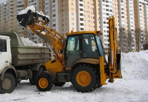 Уборка снега, очистка снега, вывоз снега Киев