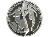 Фото  1 УЕФА. Евро-2012 Украина-Польша (набор из двух монет, которые состоят в круг диаметром 50 мм) серебро монета 10 грн 2012 1973776