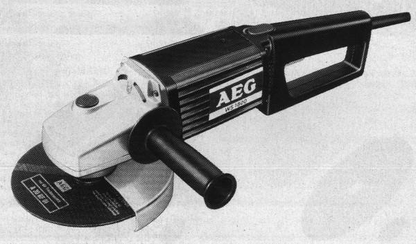 Угловая шлифмашина AEG WS 2000N (производитель-Герма ния)