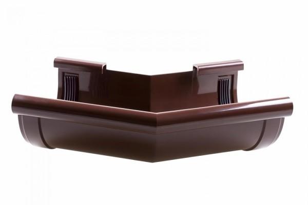 Угол наружный 135° водосточной системы PROFIL 90/75;коричневый, белый;диаметр 90 мм