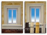 Фото  2 Угол откоса белый, коричневый 2756732