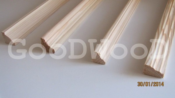 Угол внутренний сосна в. с. Ширина (перекр. ) 30(20*20) мм. Опт, розница.