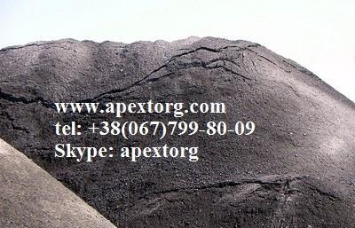 Уголь Штыб 0-6 мм