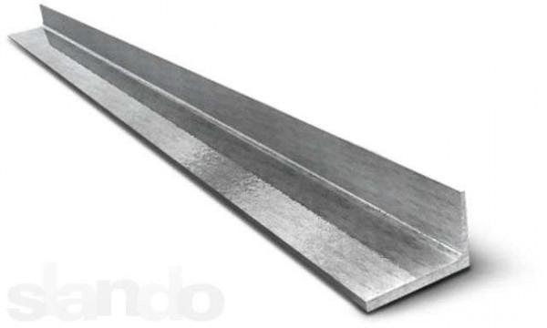 Уголок черный 63х45 мм, длина 3-3.5 м, в наличии