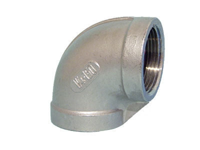Уголок (колено) резьбовой с внутренними резьбами из нержавеющей стали AISI304, 316, Ду6-50