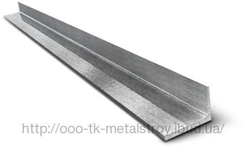 Уголок оцинкованный 100*50*1,5 мм