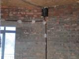 Укладка кабеля в штробе (укладка, штроба)