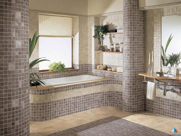 Укладка керамической плитки, гранитной плитки, мраморной плитки, мозаика, подрезка углов плитки