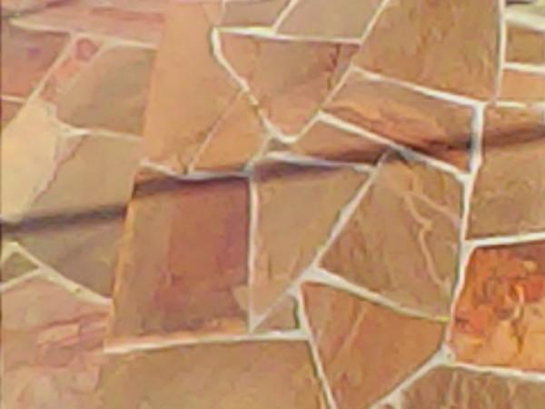 укладка песчаника плитняка